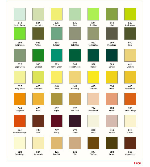 Offray Ribbon Color Chart Rebellions